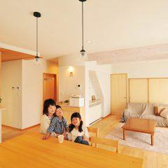 築20年以上の県北の家をリフォーム ナチュラルで爽やかな住空間に
