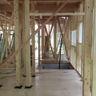 新築現場構造