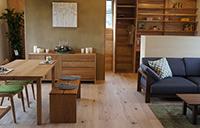 モデルハウス:「木の家の暮らしを楽しむ」e-ne(いいね)