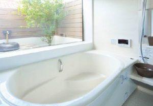 坪庭付き風呂