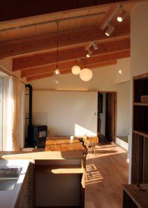 木貼り天井
