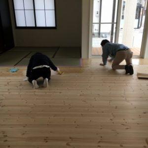 床塗り、自然塗料