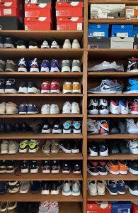 ご主人の大切なスニーカーコレクション