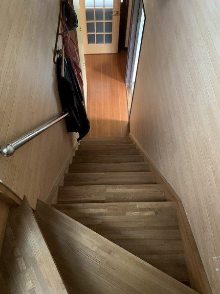 階段架け替え